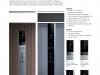 Linea di pulsantiere di design