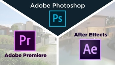 Corso suite Adobe (Photoshop + Premiere + After Effects)
