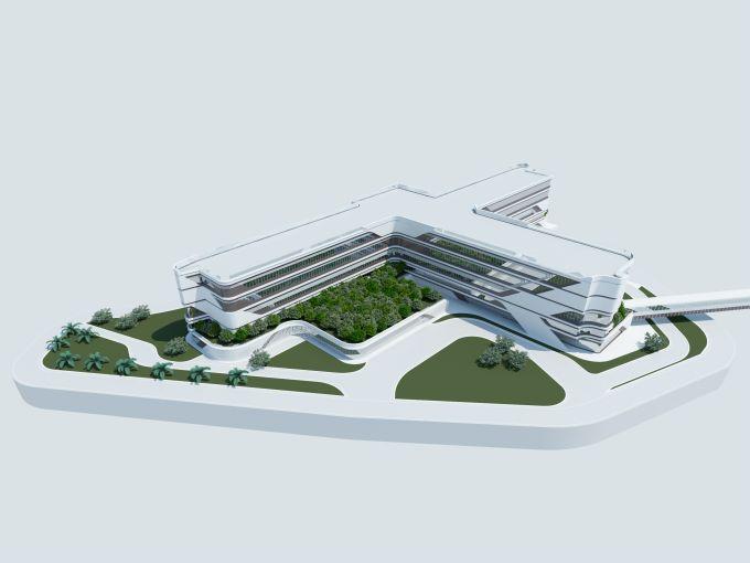 Render Gemelli Private Hospital