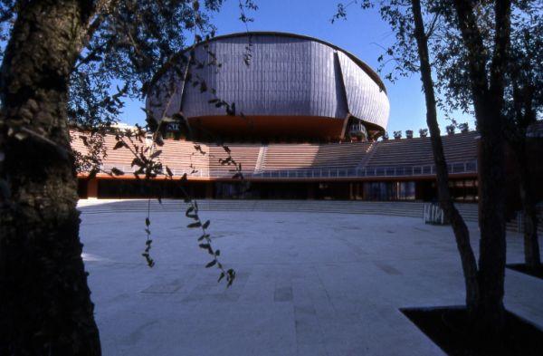 AUDITORIUM PARCO DELLA MUSICA a Roma ©Moreno Maggi