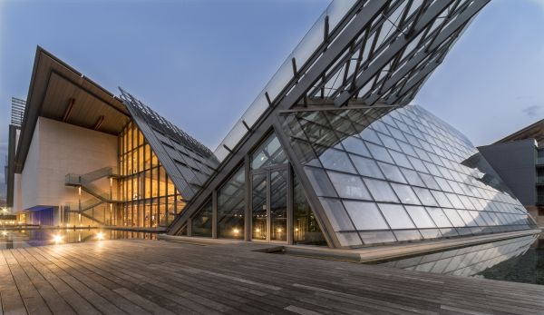 Schermature solari Resstende per il Muse Museo delle Scienze_foto Matteo De Stefano