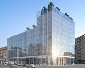 """Riqualificazione del """"Palazzo di Fuoco"""" a Milano"""