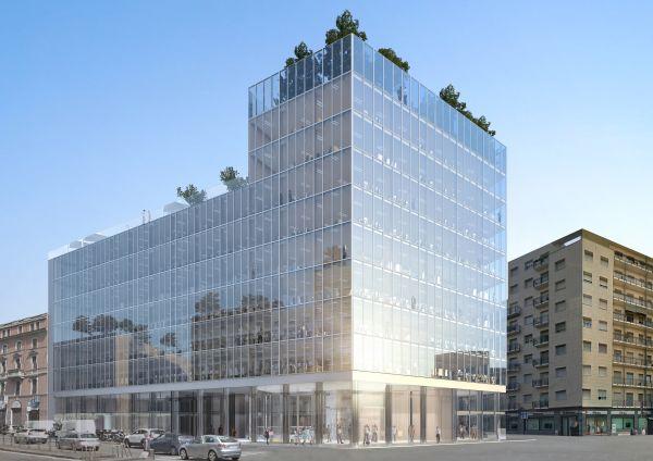 """Progetto di riqualificazione dello storico """"Palazzo di Fuoco"""" a Milano"""