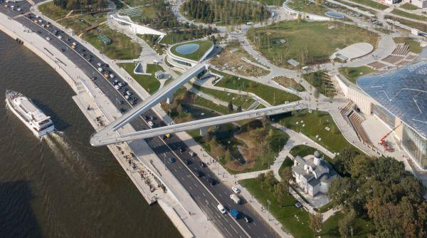 """Zaryadye Park: e il """"wild urbanism"""": ecco il nuovo parco di Mosca"""