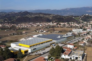 L'impianto fotovoltaico della sede Vimar