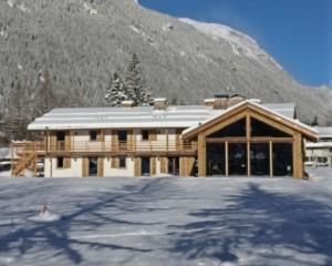 Reinterpretazione di una casa contadina dell'Alta Savoia