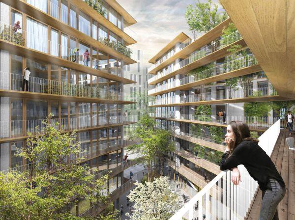 Progetto Vincitore del concorso di progettazione House-in-Milanosesto lo studio 02Arch