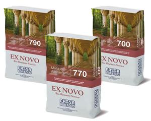 SISTEMA BIO-ARCHITETTURA: linea EX NOVO<sup>®</sup> Bio-Restauro Storico