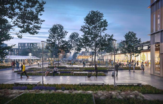 MoLeCoLa: La nuova piazza della stazione del quartiere Bovisa a Milano