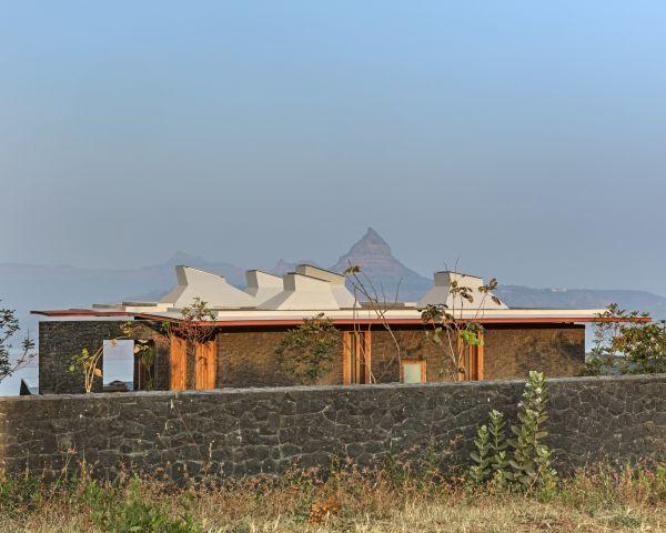 Un rifugio dal caos ai piedi dei monti Sahyadri, in India
