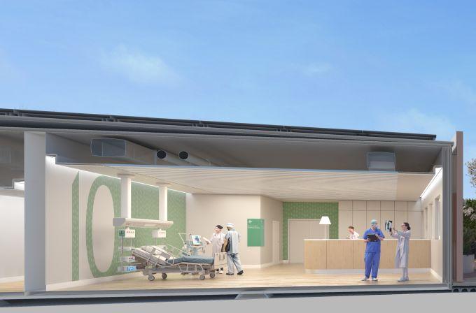 Emergency Hospital 19, render terapia intensiva