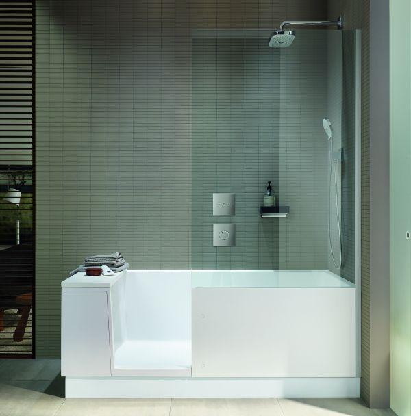 Shower+Bath: progetto Duravit bagno e doccia in un unico prodotto