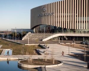 L'architettura che vive in simbiosi con la città Royal Arena di Copenhagen
