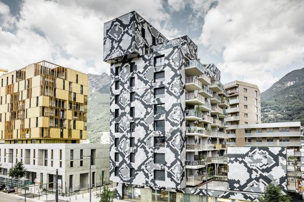 Edificio di Grenoble LePython