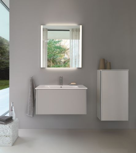 Serie XSquare con lavabo ME by Starck