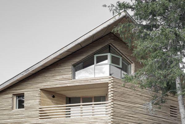 Chalet Odles comprende cinque appartamenti edificati in legno