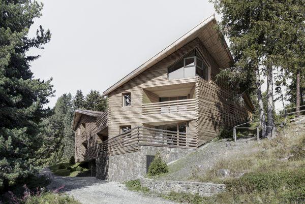 LignoAlp ha realizzato i 5 appartamenti di Chalet Odles