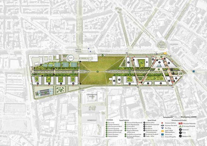 Il masterplan di Outcomist per la riqualificazione dello scalo di Porta Romana a Milano