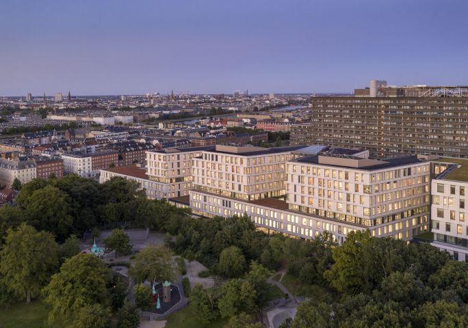 La nuova ala nord del Rigshospitalet di Copenhagen