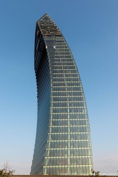 La torre di Libeskind di City Life a Milano