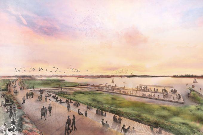 Baia di San Francisco, Il progetto del quartiere galleggiante di Tidal Cities