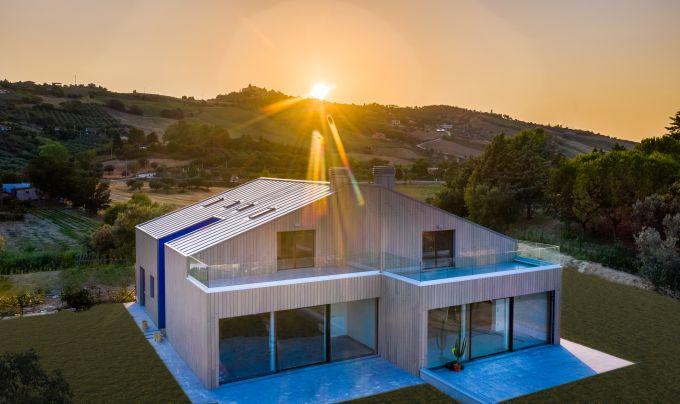 Residenza Q, Design nordico nelle colline d'Abruzzo