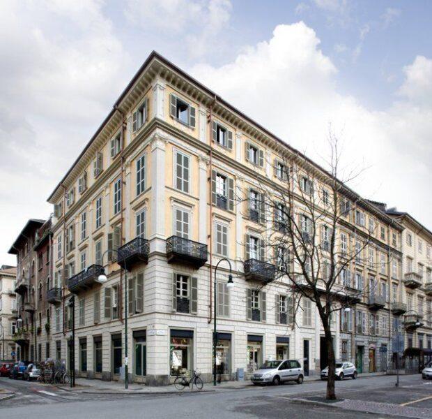 Il palazzo di via Palestro 3 a Torino