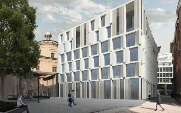 Progetto vincitore edificio via delle Orsole a Milano