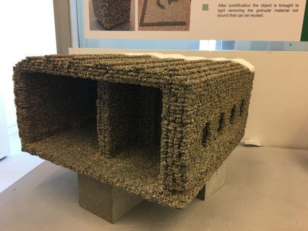 Sperimentazioni Italcementi Mattone con stampante 3D