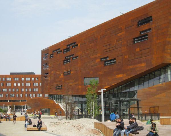 Il progetto del Centro didattico del WU campus curato da BUSArchitektur
