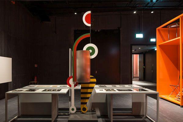 Interno del Bauhaus Museum Dessau