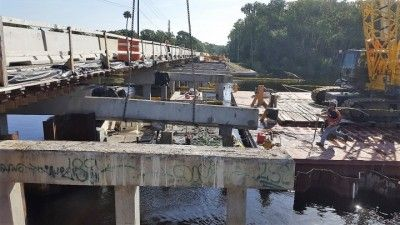 Messa in sicurezza ponte HALLS RIVER BRIDGE