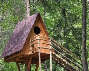 Tegole Onduvilla per il primo villaggio sugli alberi italiano