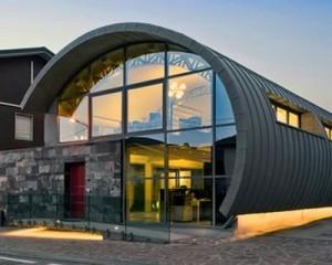 Studio di Architettura con copertura in zinco titanio VMZINC