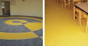 Nuovo pavimento dell'asilo Margotto a cura di Sika