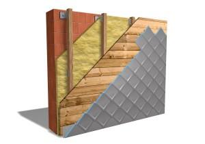 Piccoli elementi in alluminio per coperture e facciate