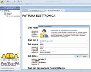 Fattura elettronica per PA
