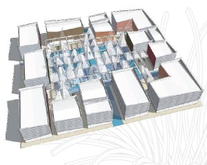 Padiglioni Cluster di EXPO