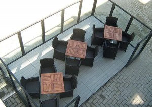 """""""Coccola"""", sistema innovativo di riscaldamento ventilazione per esterni"""