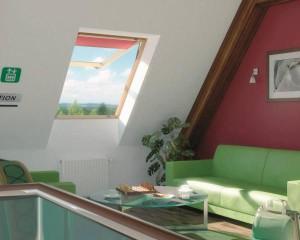 FEP: finestra da tetto panoramica con doppia apertura