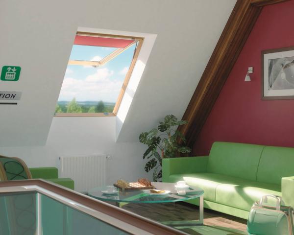Fep la finestra da tetto panoramica con doppia apertura for Finestra da tetto