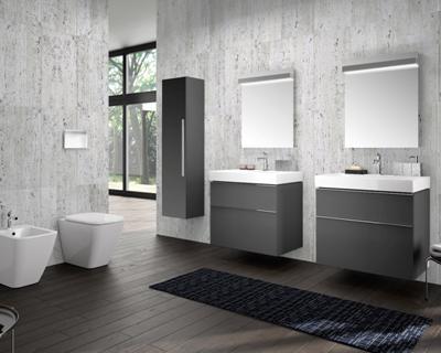 Collezione di arredo bagno e vasi rimfree a firma pozzi for Arredo bagno cagliari