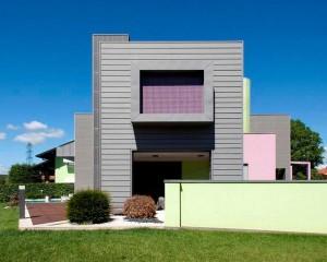 Progetto di ampliamento e ristrutturazione in Zinco Titanio
