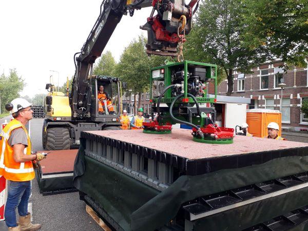 PlasticRoad, pista ciclabile green realizzata con plastica riciclata