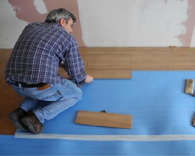 Riduzione del livello di calpestio tramite pavimenti flottanti