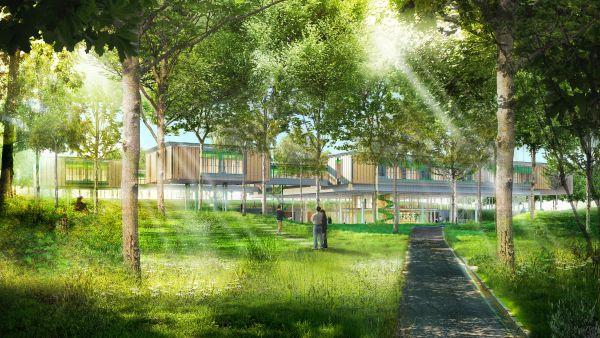 Hospice pediatrico di Bologna di Renzo Piano Building Workshop