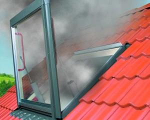 FSP FAKRO, finestra evacuazione fumi
