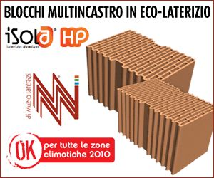 BLOCCHI MULTINCASTRO IN ECO LATERIZIO