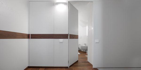Porte filo muro, per un impatto elegante, pulito e lineare