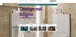 Geberit on line con il nuovo sito 2